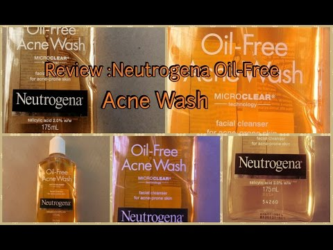 hqdefault - Neutrogena Acne Facial Wash
