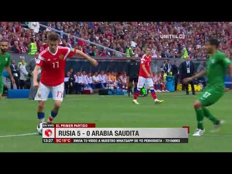 Rusia 5 – 0 Arabia Saudita