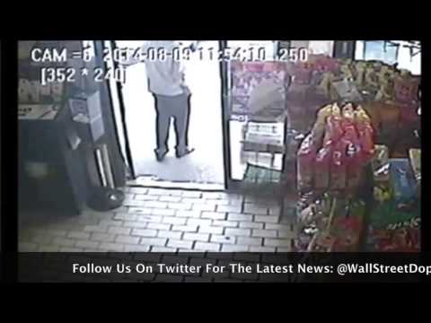 Surveillance Video of Mike Brown Shoplifting