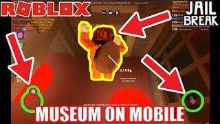 Jailbreak MUSEUM on MOBILE ROBLOX Challenge!!! | Roblox Jailbreak
