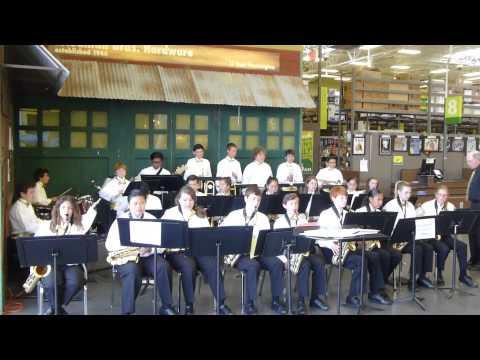 Kenilworth Junior High School Jazz Band at Friedman's Home Improvement Petlauma