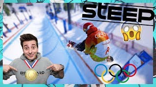 ORO Olimpico per BSTAAARD!!!! - STEEP Road to the Olympics