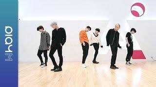 VICTON bigton geuriun bam anmu yeonseub yeongsang Choreography Practice sabog Ver