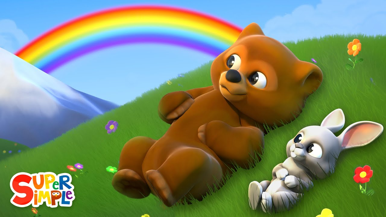 The Rainbow Song | Kids Songs | Super Simple Songs