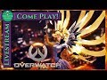 HEALER FOR HIRE - COME PLAY! ❤️ Overwatch (PC) | Cocktail Chill Stream