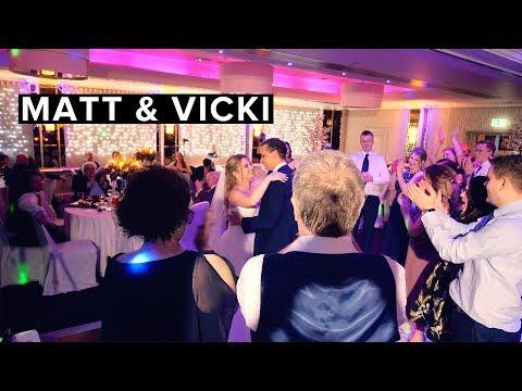 Matt + Vicki's Short Wedding Film At The Grosvenor Pulford Hotel, Cheshire