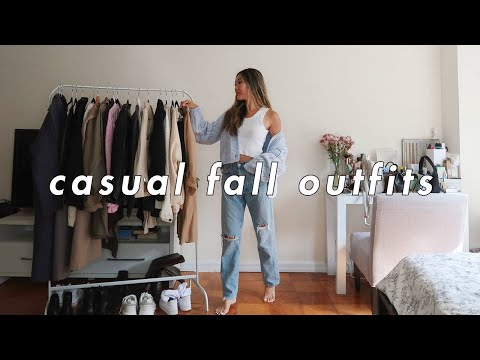 CASUAL FALL OUTFITS 🍁 | fall fashion lookbook 2020