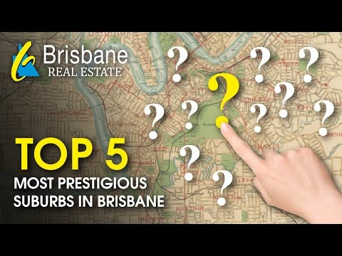 Brisbane Real Estate - TOP 5 most prestigious suburbs in Brisbane