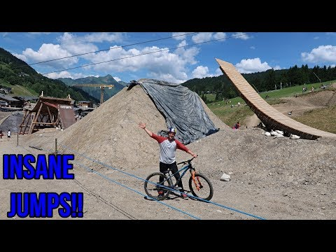 CRAZY MTB SLOPESTYLE COURSE AT CRANKWORX!!