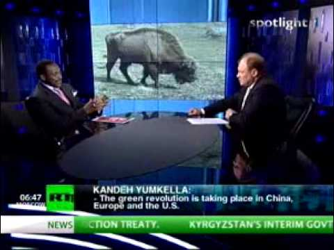Russia Today interview with UNIDO Director-General on Green Growth