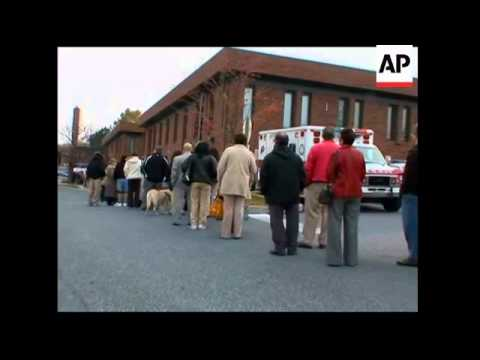 Harrisburg voters in bellwether state, microcosm of nation, leaning Obama