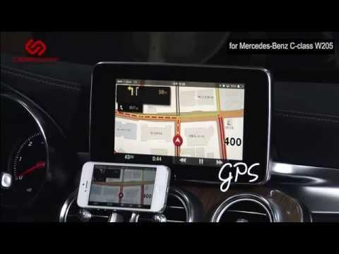 Mercedes C-klasse W205: Kibercar. Видеоинтерфейс KiberLink и модуль I-Connect