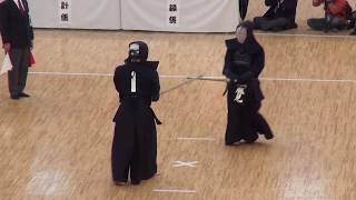 Katsumi vs Ando    Quarter Final, 66th All Japan Kendo Championship 2
