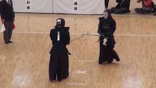 Katsumi vs Ando    Quarter Final, 66th All Japan Kendo Championship 2