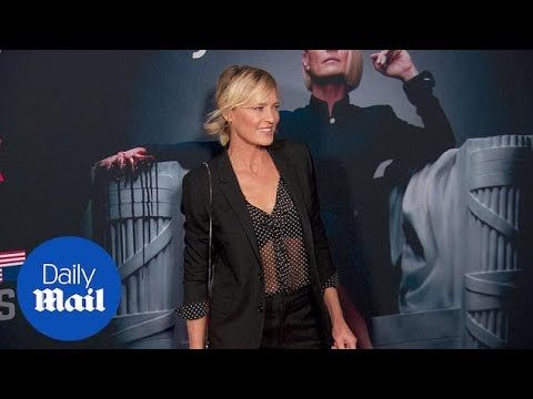 Robin Wright looks stunning at House of Cards Season 6 premiere