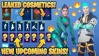 'NOUVEAU' Tous les Skins Fortnite fuites -Emotes..! BIGFOOT (Beach Bomber, Deep Dab..)