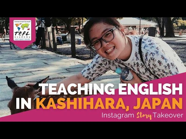 Day in the Life Teaching English in Kashihara, Japan with Jenny Chang