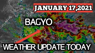 WEATHER UPDATE TODAY|JANUARY 17,2021|QUICK UPDATE|WEATHER FORECAST TODAY|RAIN FORECAST