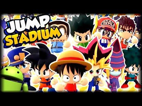 DESCARGA NUEVO JUEGO ESTILO SMASH BROS CON GOKU Y MAS PERSONAJES PARA  ANDROID Jump Stadium APK + iOS