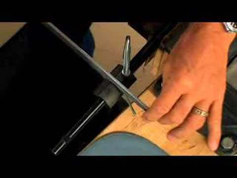 Gunsmithing - How to Cut a New 3/8 Inch Front Sight Dovetail in a Rifle Barrel