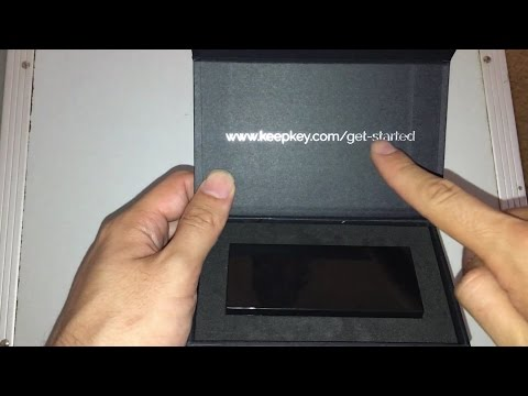 KeepKey Bitcoin - Ethereum - LiteCoin - Dash physical wallet unboxing and product review