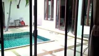 видео аренда коттеджа с бассейном