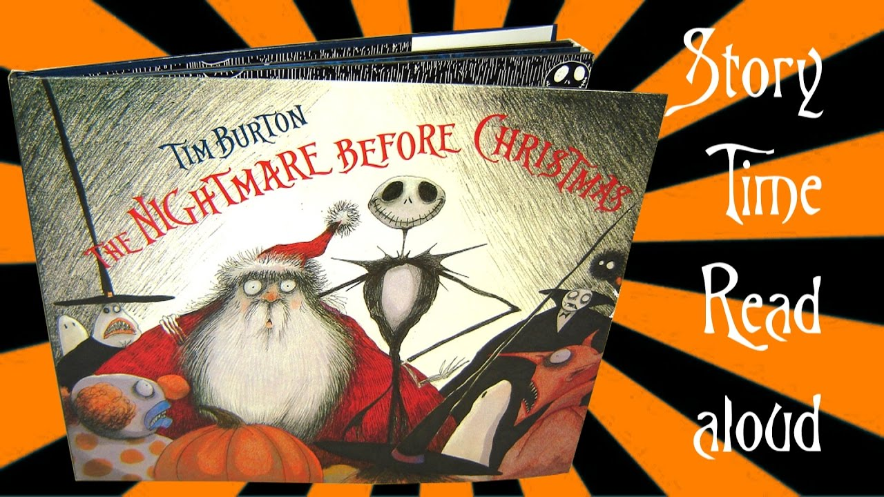 The Nightmare before Christmas Story Read aloud (Book read out loud ...
