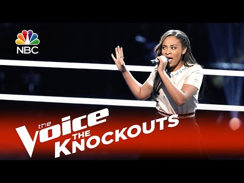 """The Voice 2015 Knockouts - Koryn Hawthrone """"Try"""""""