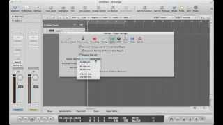 Logic Pro 9 - Understanding Sample Rate and Bit Depth
