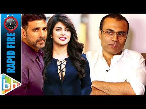 Amitabh Bhattacharya's LYRICAL Rapid Fire On Salman Khan | SRK | Akshay Kumar | Priyanka Chopra