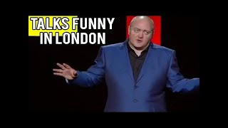 "Dara O'Briain - ""Talks Funny in London"" (Dara O' Briain Live 2008 Stand Up Full)"