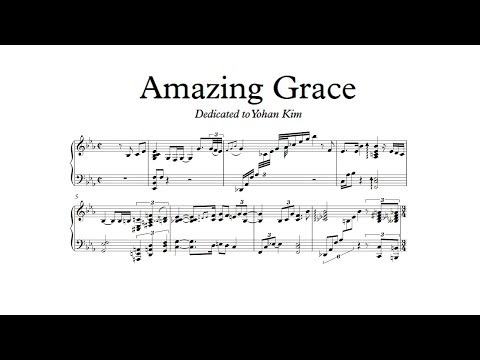 Yohan Kim - Amazing Grace (Piano transcription)