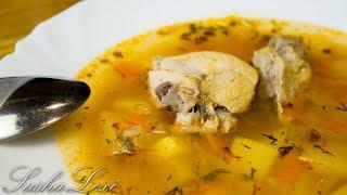 Вкуснейший домашний суп харчо с курицей. Рецепт.