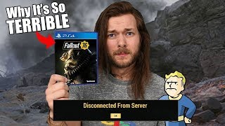Fallout 76 Is A Huge DISAPPOINTMENT.