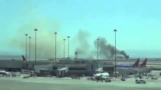 AIR CRASH: Asiana Airlines Boeing 777 Crashes in San Francisco Airport