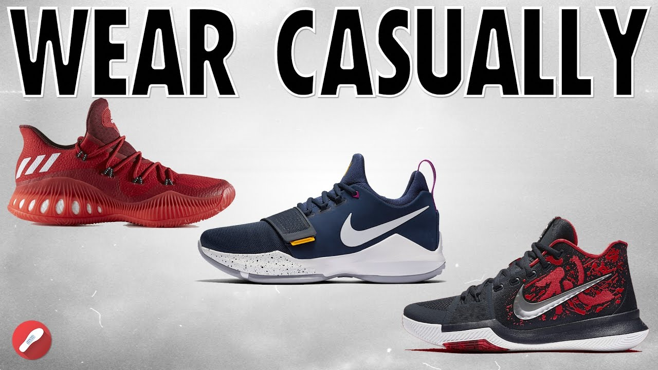 Top 5 Basketball Shoes To Rock Casually!
