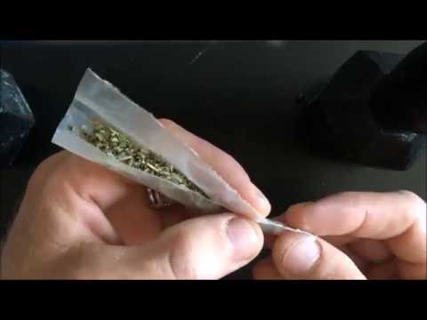 How to roll a joint with left over paper