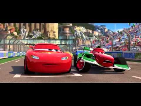 cars 2 francesco et flash mc queen italie youtube. Black Bedroom Furniture Sets. Home Design Ideas
