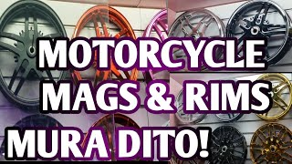MOTORCYLCE MAGS AND RIMS | MURANG GAMIT 10TH AVENUE CALOOCAN