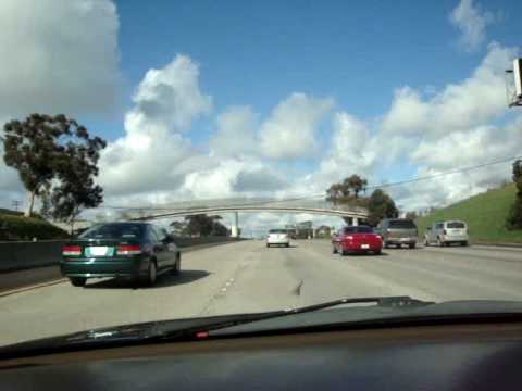 Driving Through San Diego (Mission Valley and Kearny Mesa)