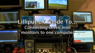 Connecting 6 USB Monitors with touch screen  to One PC