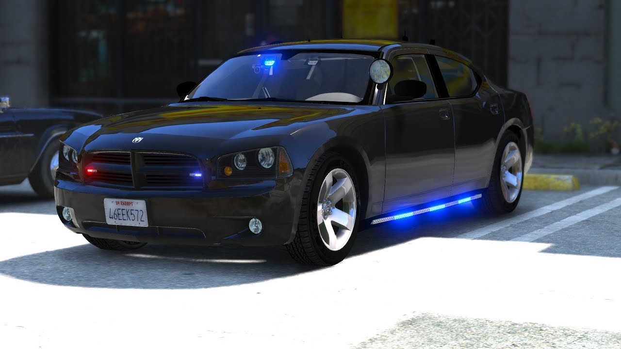 Unmarked Dodge Charger...