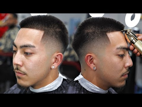 haircut-tutorial:-mid-low-fade-|-how-to-shape-straight-hair