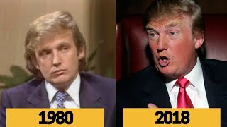 Donald Trump Interview Comparison and Evolution From Young To Old
