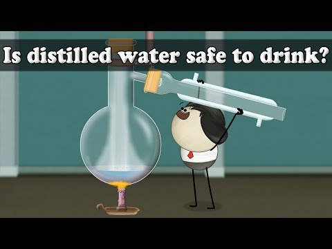 Is Distilled Water Safe To Drink? | #aumsum #kids #science #education #children