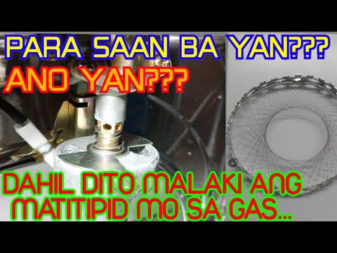 HOW TO SAVE LPG GAS || TAGALOG