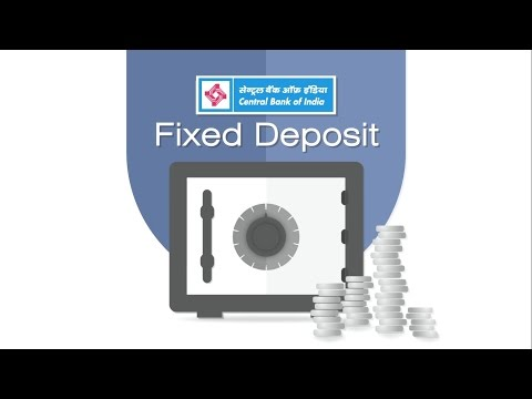 Central Bank Of India Fixed Deposit