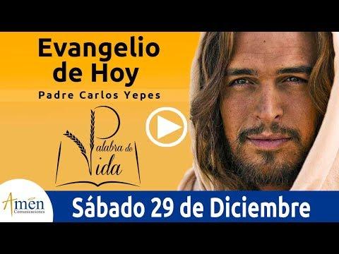 Evangelio de Hoy Sábado 29 de Diciembre de 2018 Padre Carlos Yepes
