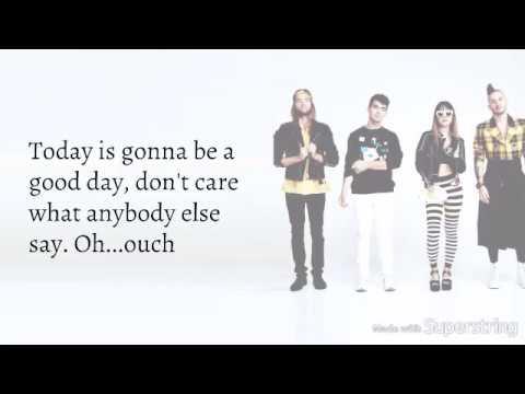 DNCE - Good Day (lyrics)