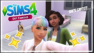 The Sims 4: Get Famous Let's Play Part 3   Melody Is A LESBIAN?!?